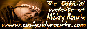 the official website of mickey rourke