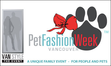 you're invited to vancouver's pet fashion week!