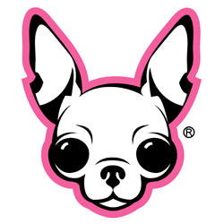 famous chihuahua logo, a registered trademark