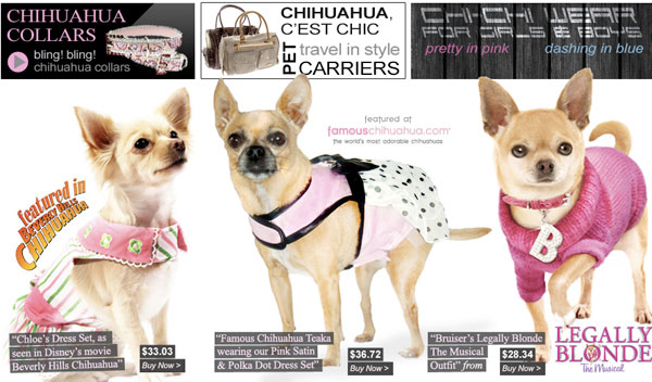check out our spring clearance on chihuahua dog clothing! stock up for next year with quality items for small dogs!