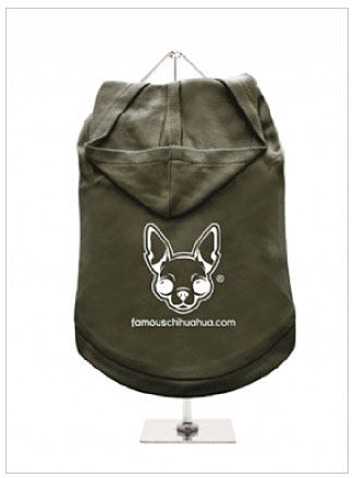order a famous chihuahua dog hoodie