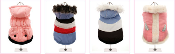 shop for dog coats at clearance prices!