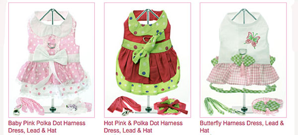 click here to check our spring dog dresses