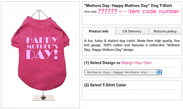 mother's day dog shirt
