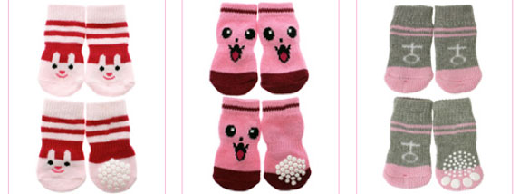 dog boots and pet socks!