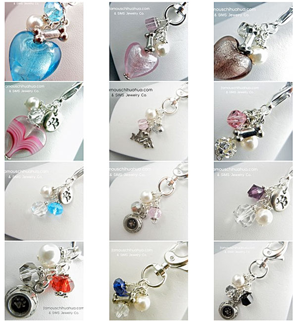 custom made dog charms