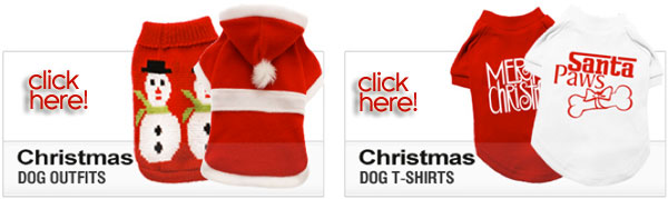 christmas dog outfits and clothes