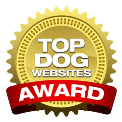 famous chihuahua wins a top dog website award!