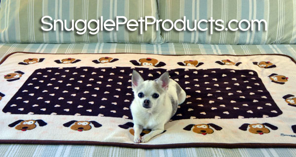 snuggle puppy blanket!