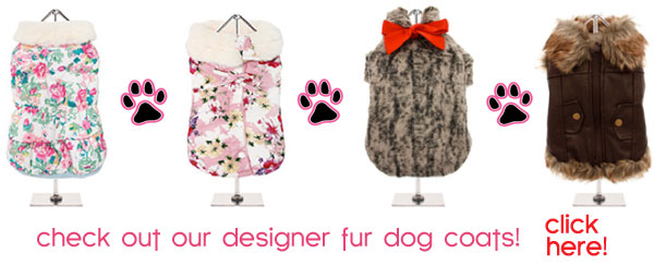 fur dog coats