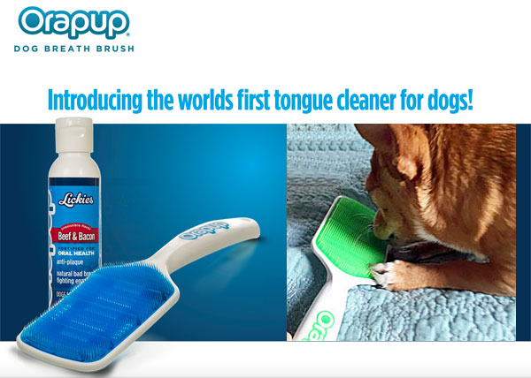 tongue cleaner for dogs