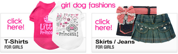 girl dog clothes fashions
