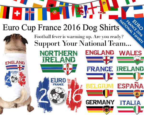 eurocup france 2016 dog shirts