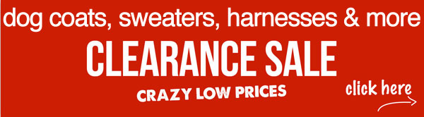 clearance sale dog coats dog sweats dog jackets