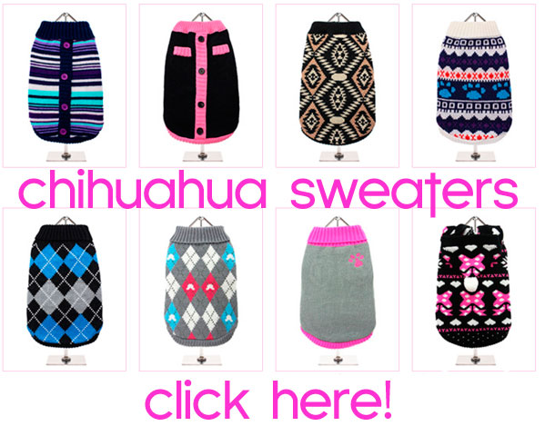 chihuahua dog sweaters sale