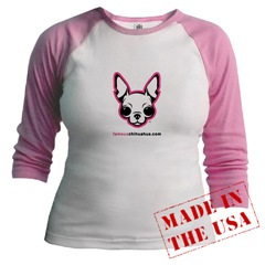 Chihuahua Junior Raglan T-shirt