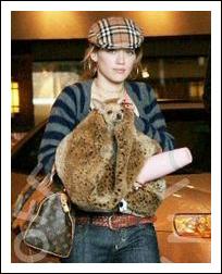 Hilary Duff and 'Lola'