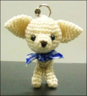 Tiny Little Chihuahua Cell Phone Charm