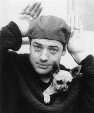 brendan fraser and his chihuahua