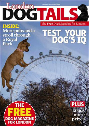 ruby scrumptious on the cover of london tails