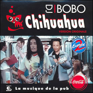 cover for the single chihuahua by artist dj bobo