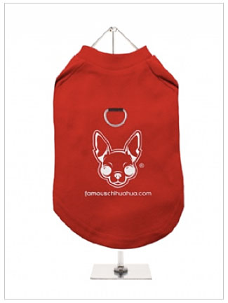 order a famous chihuahua harness dog shirt