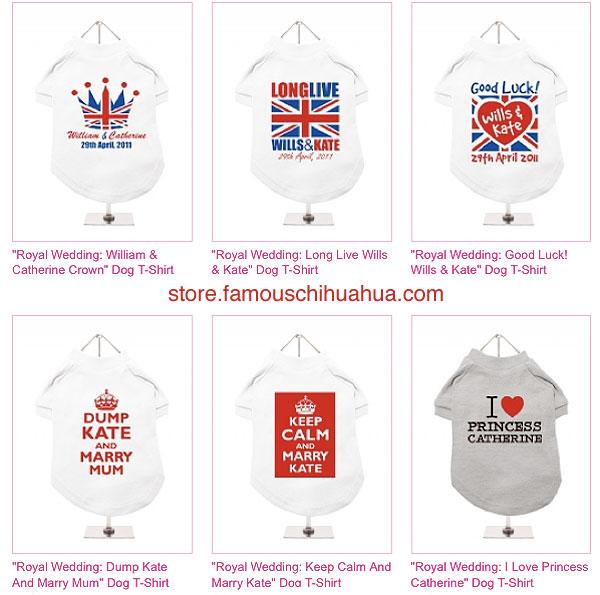 shop for royal wedding pet souvenirs!