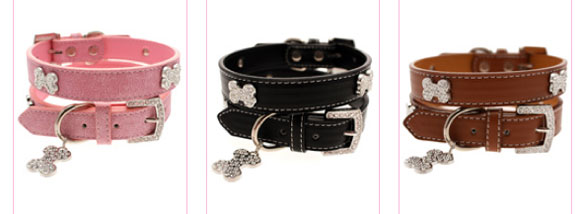 designer dog collars and leads!