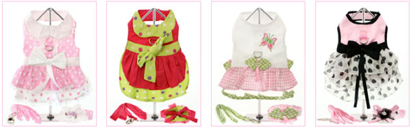 shop for dog dresses at clearance prices!