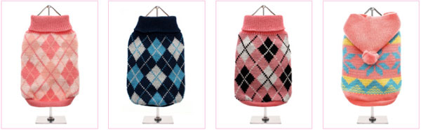 shop for dog sweaters at clearance prices!