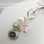 dog bowl attachable pendant