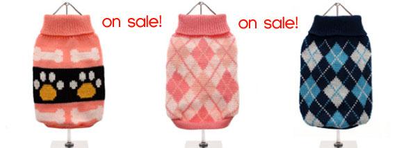 sale dog sweaters