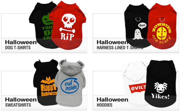 alloween dog shirts