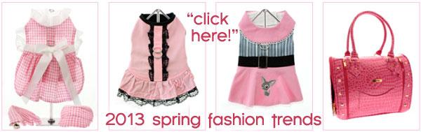 2013 spring dog fashions