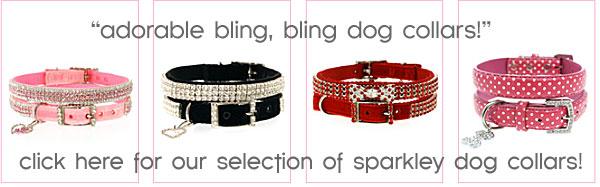 bling dog collars