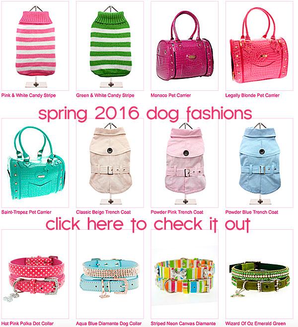 spring 2016 dog fashions