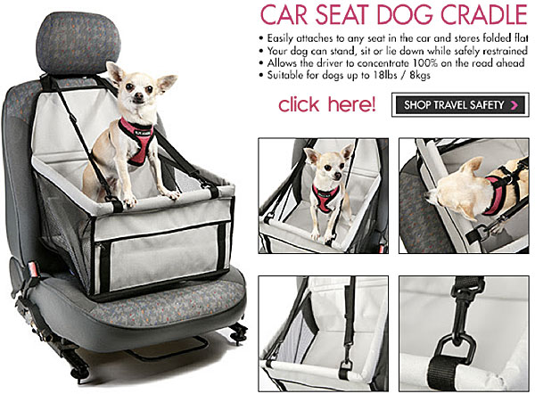 car seat dog cradel
