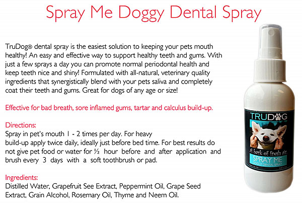spray me doggy dental spray