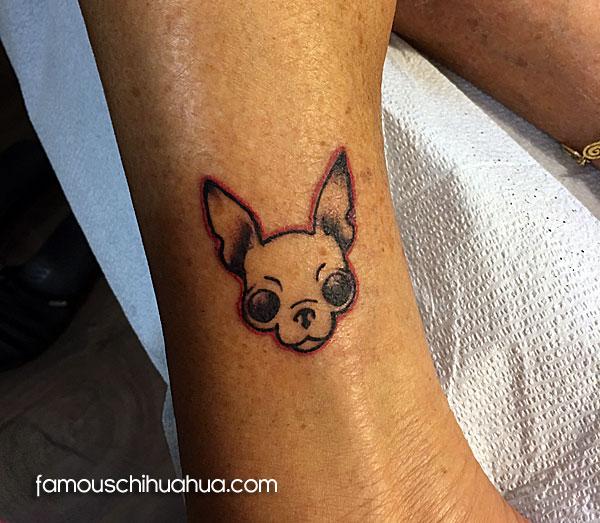famous chihuahua tattoo