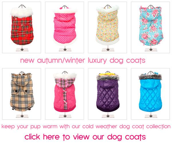 lautumn winteruxury dog coats