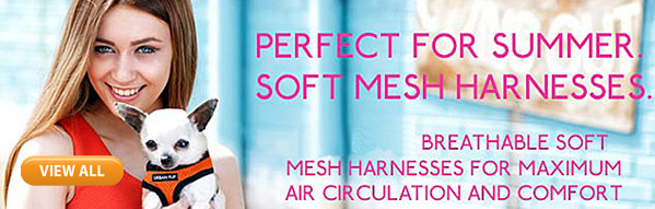 soft mesh dog harnesses for summer