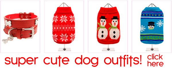 super cute christmas dog outfits