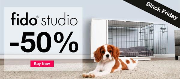 half price fido studio dog crates! buy now!