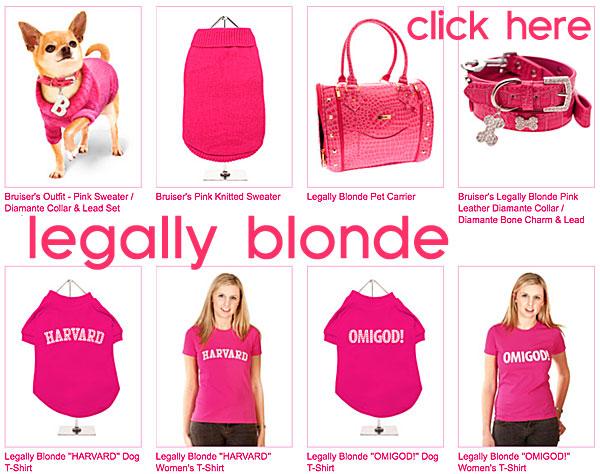 legally blonde dog apparel