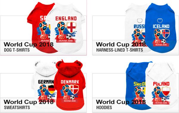 world cup 2018 dog shirts
