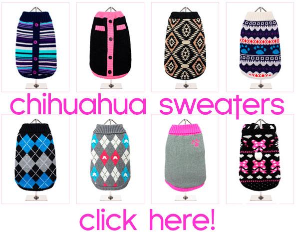 chihuahua dog sweaters sale