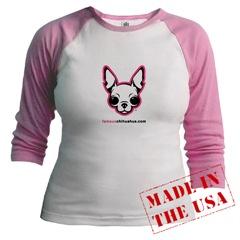 Chihuahua Junior Raglan T-shirt